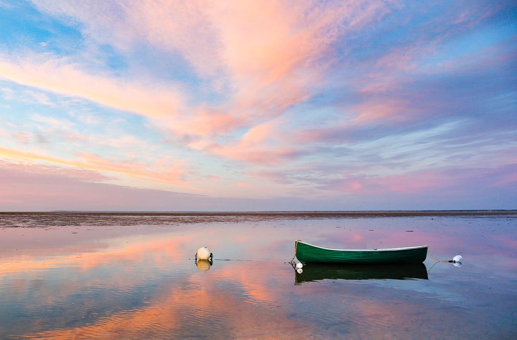 Point-of-Rocks-Sunset-and-green-canoe.jpg